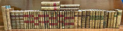 Ensemble de livres reliés XVIIIe et XIXe...