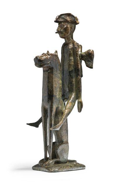 Michail Viktorovitch DRONOV (né en 1956) Cavalier sur animal fantastique, Munghausen...