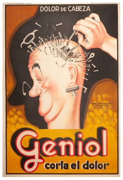 Geniol - Corta el dolor Buenos Aires 1929....