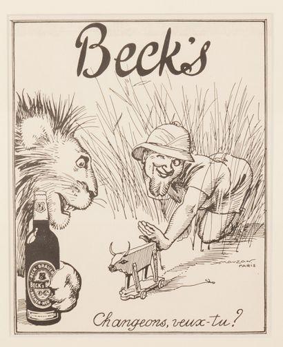 Beck's Changeons veux-tu ? Circa 1939. Projet...