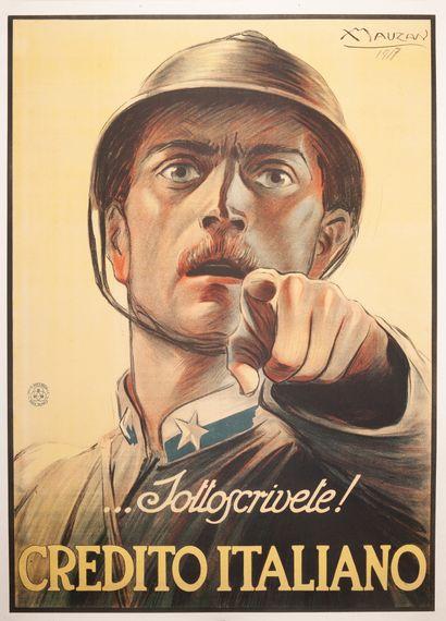 .. Sottoscrivite ! Credito Italiano Milano...