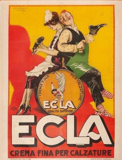Ecla Crema fina per Calzature Milano 1926....