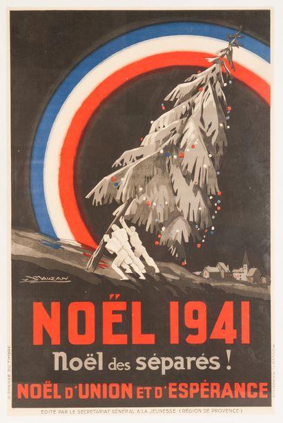 Noël 1941 noël des séparés ! Noël d'union...
