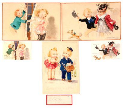 Cartes Postales Commande Garni du 13 Janvier...