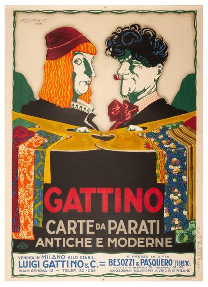 Gattino Carte da Parati. Antiche e Moderne....