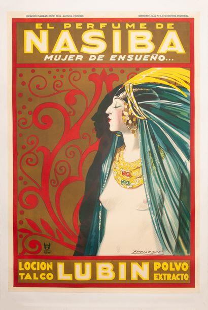 Lubin El Perfume de Nasiba Mujer de ensueno......
