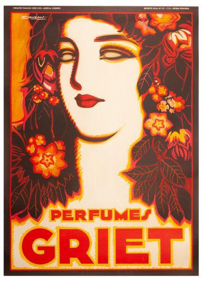 Griet perfumes Buenos Aires. 1930. Affiche...