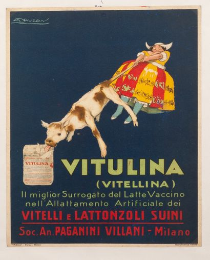 Vitulina (Vitellina) Période italienne. Pannonceau...