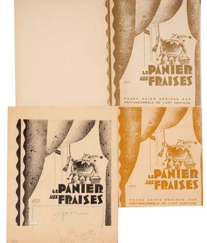 """Le panier aux Fraises """"pages gaies dédiés..."""