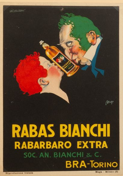Rabas Bianchi Rabarbaro extra Bra-Torino...