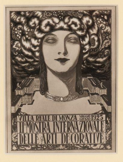 Villa reale di monza il mostra internazionale delle arti decorative Projet pour...
