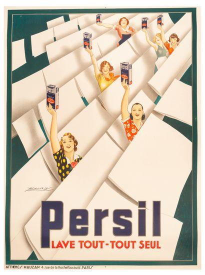 Persil lave tout - tout seul Paris 1933....