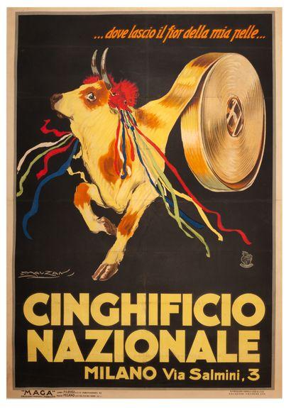 Cinghificio Nazionale Milano Milano 1921....