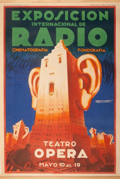 Exposicion International de Radio Teatro...
