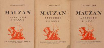 A Lancellotti Mauzan Affiches Oeuvres Diverses....