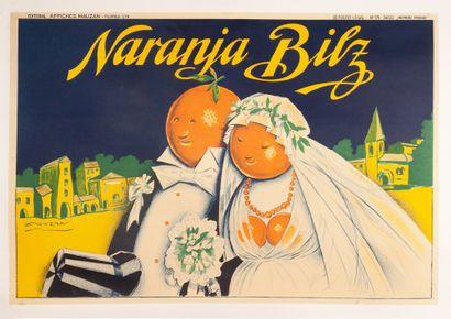 Naranja Bilz Le mariage Buenos Aires 1929....