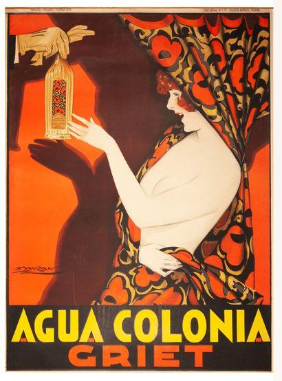Griet - Agua Colonia Buenos Aires 1928. Affiche...