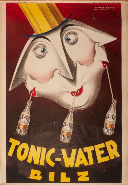 Tonic-Water Bilz Buenos Aires 1928. Affiche...