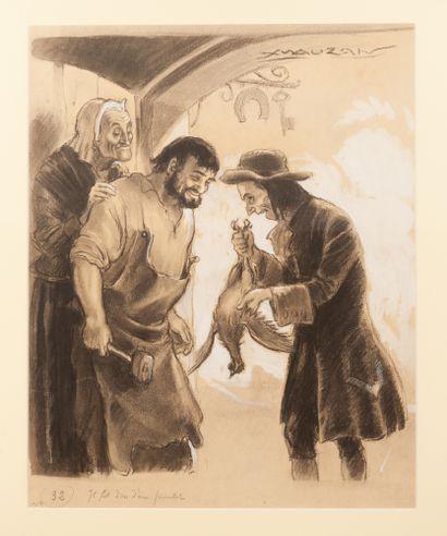 "Le Brigand Cartouche Roi des Coeurs ""Il fit..."