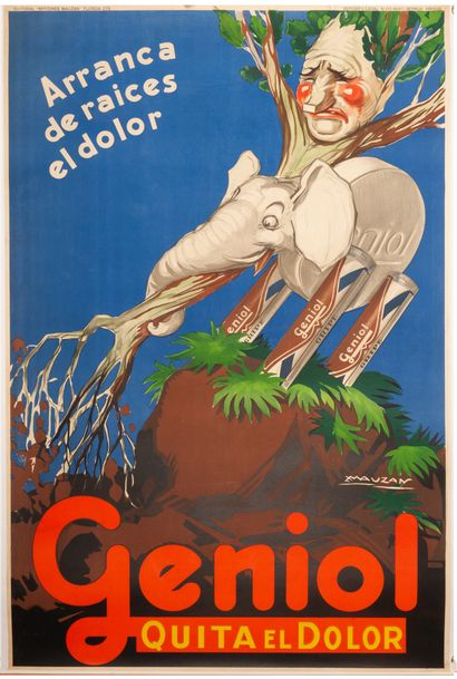 Geniol quita el dolor Buenos Aires 1929....