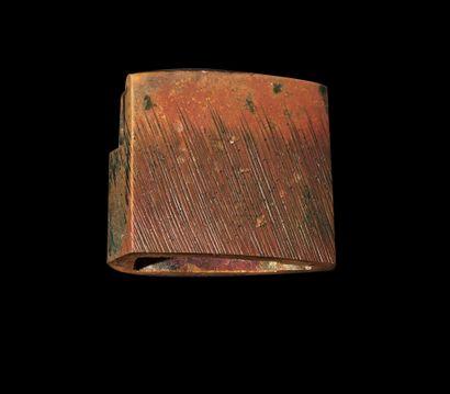Shinto wakizashi Epoque EDO (1603 - 1868), XVIIe siècle Signé (mei) : Kanei sannen...