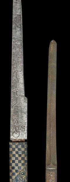 Shinto tanto Epoque MOMOYAMA (1573 - 1603) Signé (mei) : Kanesada Lame (sugata)...
