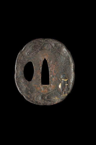 Koto o-tanto Epoque Epoque MUROMACHI (1333 - 1573) Signé (mei) : Kunitoshi Lame...