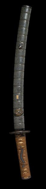 Koto wakizashi Epoque MOMOYAMA (1573 - 1603)...