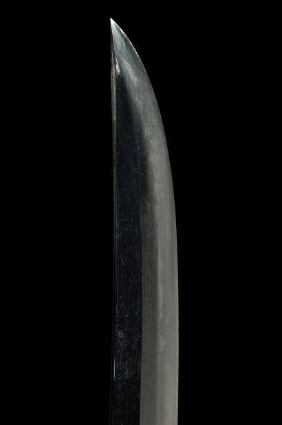 Koto wakizashi Epoque MOMOYAMA (1573 - 1603) Signé (mei) : Mihara Masatoshi Lame...