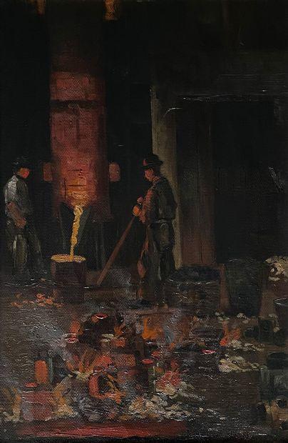 Adolf SCHWARZ (1869-1926) (attribué à)  La...