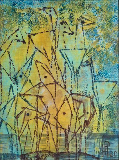Henri Ernst PFEIFFER (1907-1994)  Composition...