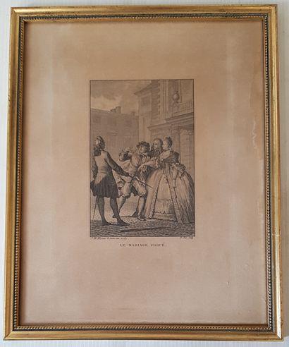 Jean Michel MOREAU (1741-1814)  Scène des...