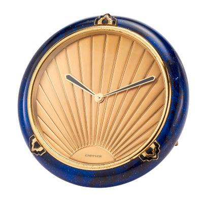 Must de CARTIER  Pendulette modèle « Lapis...