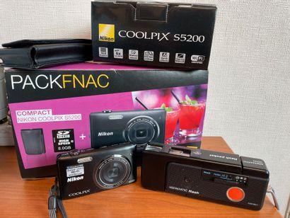 NIKON - Appareil photo Coolpix S5200 avec...