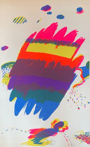 DIAZ Gérard  Variations  Lithographie en...