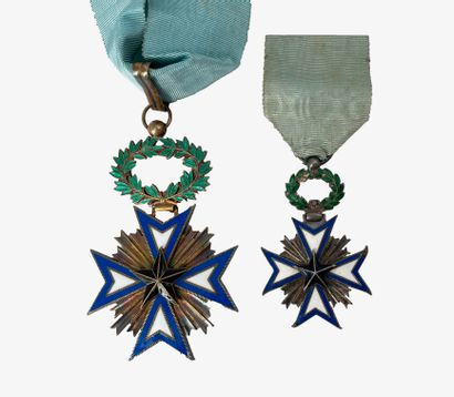 BENIN Ordre de l'étoile noire, étoile de...