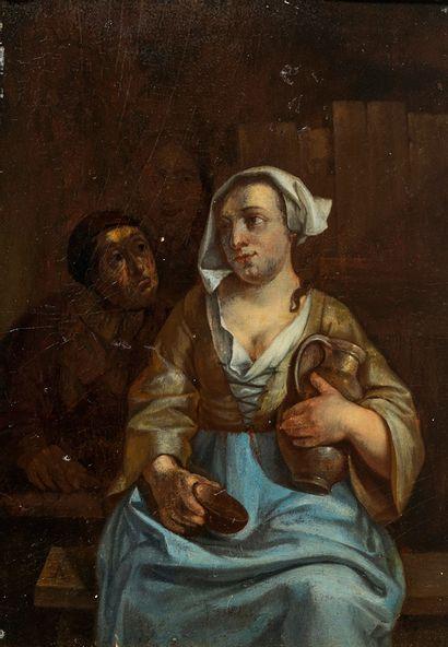Nicolaes van HAFTEN (Gorinchem 1663 - Paris...