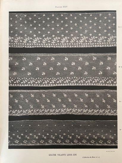 A. MALOTET, La dentelle de Valenciennes, Paris, Jean SCHEMIT, 1927