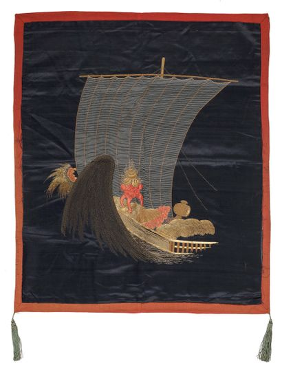 JAPON - Epoque EDO (1603 - 1868)  Fukusa...