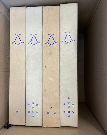 Quatre coffrets « Les cahiers de la céramique...