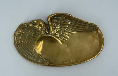 Maurice FRECOURT (1890-?)  Coupe vide-poche...
