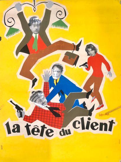 LA TETE DU CLIENT  Jacques Poitrenaud, 1965...