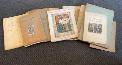 Lot d'anciens catalogues de vente