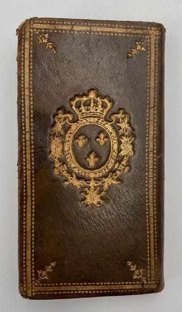 Calendrier de la cour tiré des éphémérides pour l'année bissextile 1780, imprimé...
