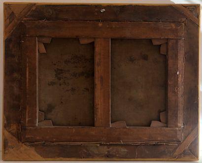 Ecole ITALIENNE, du XVIIème siècle, atelier de Filippo LAURI  La montée au Calvaire...
