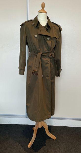 BURBERRY  Trench-coat kaki  US 10