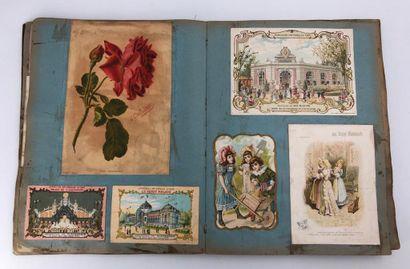 Album d'images publicitaires anciennes, Lespagnol,...