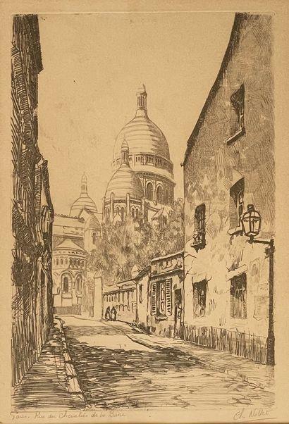 Ch. NOLLET  Paris, Rue du Chevalier de la...