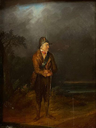 Eugène François de BLOCK (1812-1893)  Portrait...