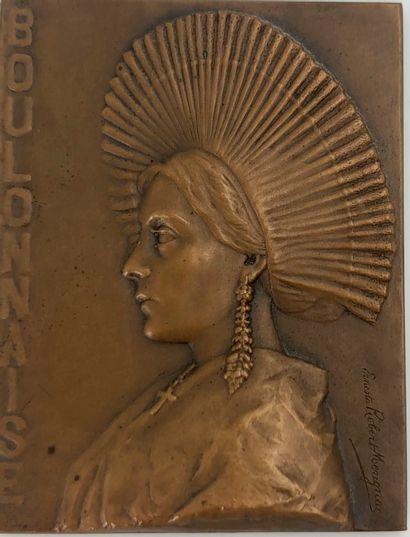 Ernesta ROBERT-MERIGNAC  La Boulonnaise  Médaille...